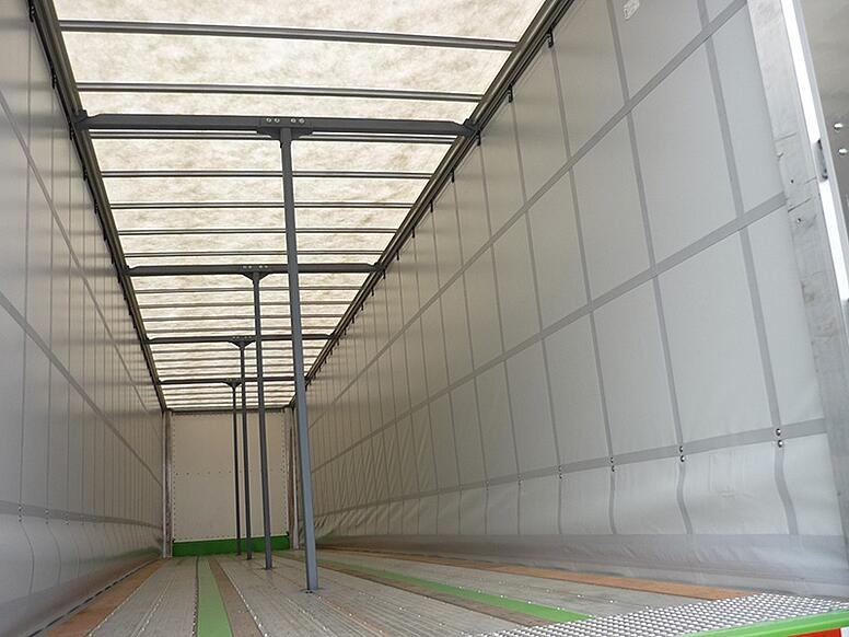 Options For Your Curtain Side Trailer Roofing Aluminum