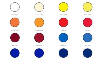 roland curtains pvc color chart sample