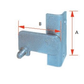 QUICK RELEASE LATCH ASSEMBLY (ROADSIDE)