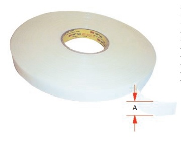 DOUBLE SIDED ROOF BOW TAPE