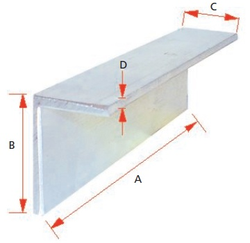 REAR CLOSEOUT ANGLE FOR PELMET