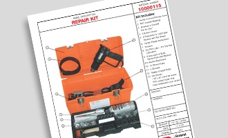 Curtain Repair Kit Infosheet