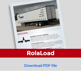 Download our Rolaload brochure for full specs on our curtainside systems for trucks vans and trailers!