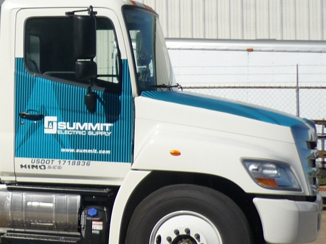 Tractor Trailer Cab Decal Graphics