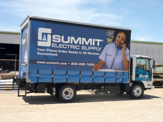 Summit Curtainside Trailer Graphics