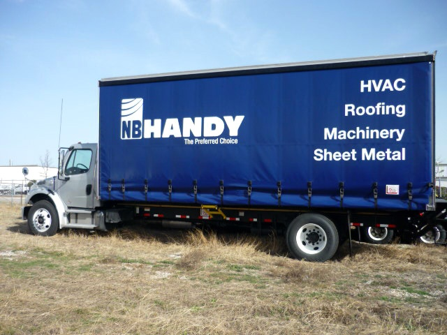 Handy Curtainside Bodies Trailer