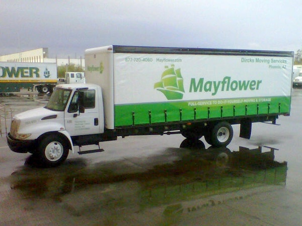 Mayflower Curtainside Bodies Trailer