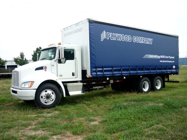 Plywood Curtainside Bodies Trailer