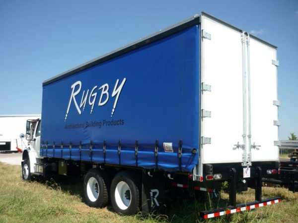 Rugby Curtainside Bodies Trailer