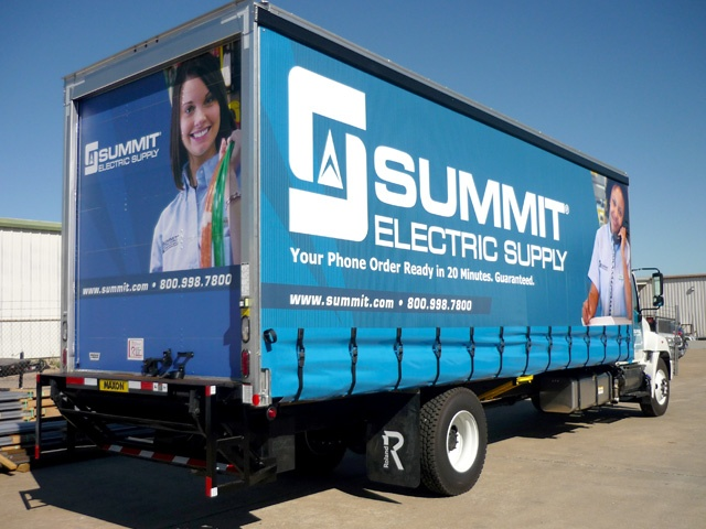 Digital Graphics for Curtainside Trailers