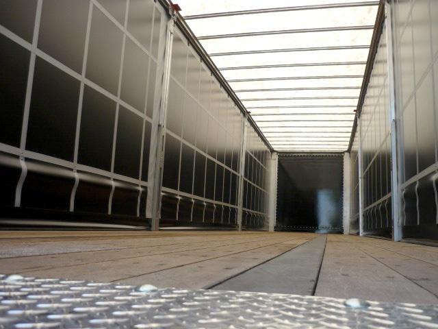 Inside of Curtainside Trailer