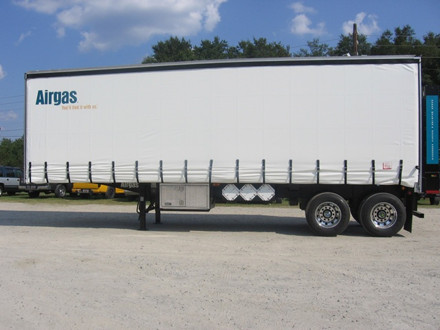AirGas Curtainside Trailer