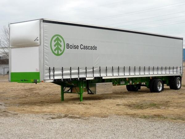 Boise Cascade Curtainside Trailer