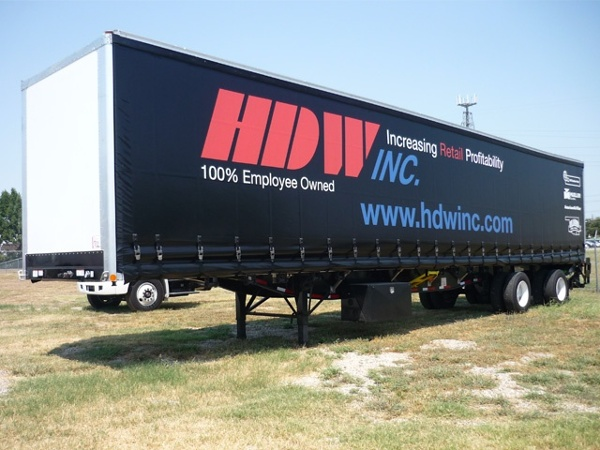 HDW Curtainside Trailer