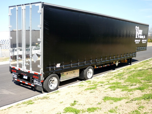Rowe Curtainside Trailer