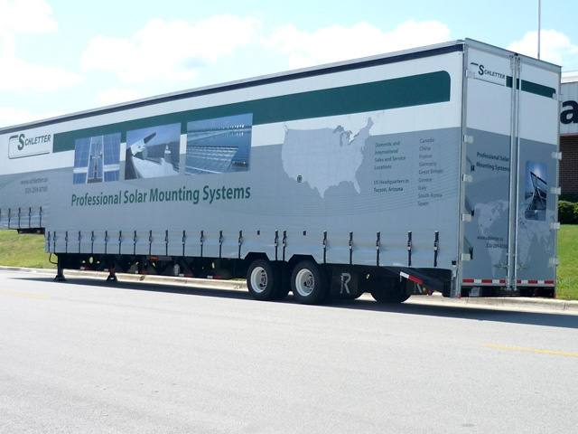 Schletter Curtainside Trailer